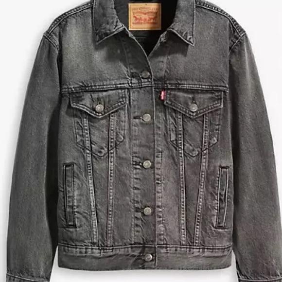 ***Sold*** NWT Exboyfriend Trucker Jacket